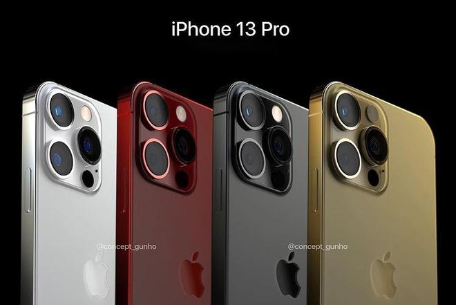 Xem concept iPhone 13 Pro Max màu đỏ, đẹp mãn nhãn! - ảnh 1