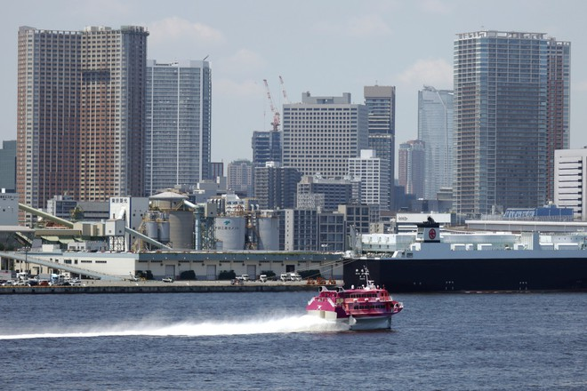 VĐV dự Olympic chê địa điểm tổ chức bơi tại Tokyo có mùi như nước bồn cầu - ảnh 1