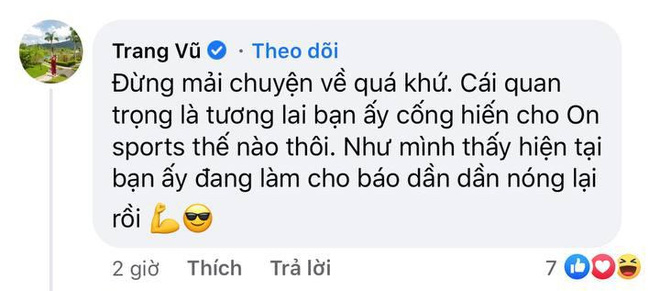 Mẹ nuôi Quang Hải công khai ủng hộ Huỳnh Anh làm BTV thể thao, nói gì mà nhắc đến cả quá khứ? - ảnh 2