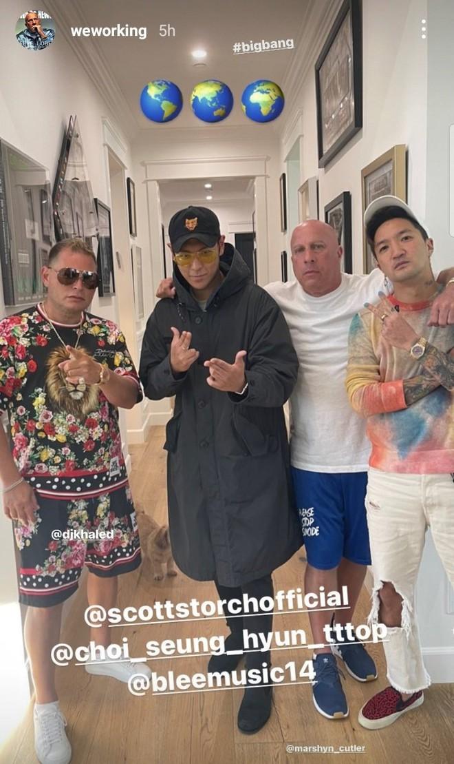BIGBANG comeback thật rồi: T.O.P xuất hiện ở phòng thu, producer còn hé lộ là một sản phẩm của toàn nhóm? - ảnh 1
