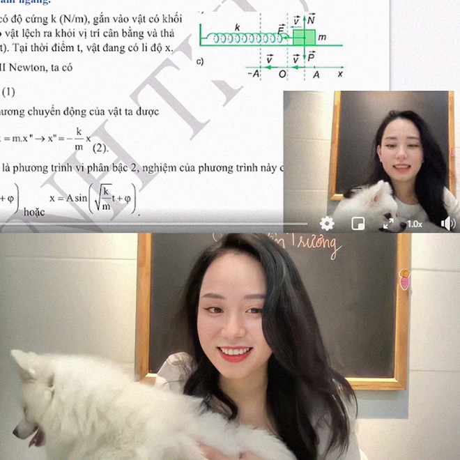 Cô giáo Vật lý đang hot thanh minh chuyện đã có bạn trai, còn tha thiết mong netizen làm 1 điều cho mình - ảnh 1