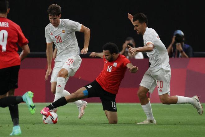 Dàn sao Euro 2020 gây thất vọng, Olympic Tây Ban Nha bị Ai Cập chia điểm - ảnh 8
