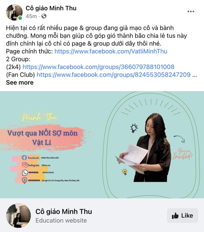 Cô giáo Vật lý đang hot thanh minh chuyện đã có bạn trai, còn tha thiết mong netizen làm 1 điều cho mình - ảnh 4