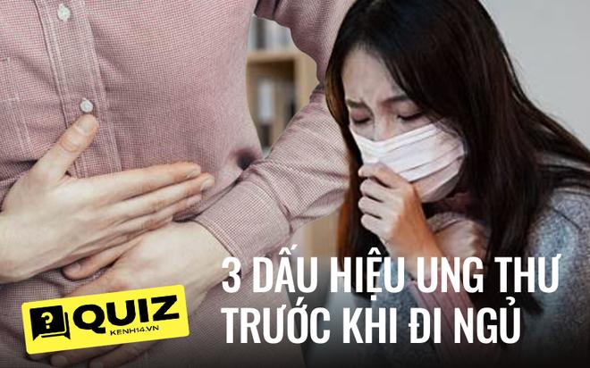 Quiz: 3 hiện tượng trước khi đi ngủ có thể là dấu hiệu cho thấy tế bào ung thư đang âm thầm phát triển trong cơ thể - ảnh 1