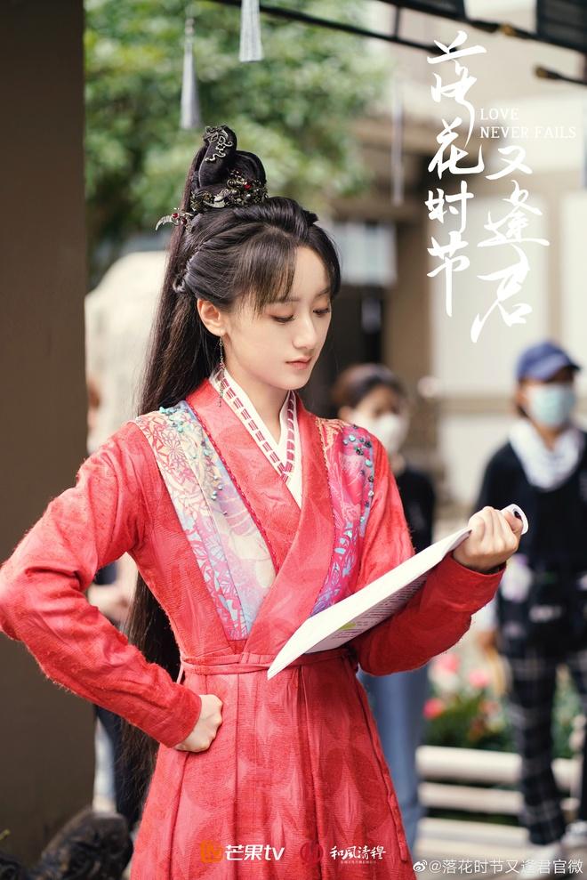 Viên Băng Nghiên diện váy đỏ trong phim mới, thế nào lại nhìn ra Triệu Lệ Dĩnh ở Hoa Thiên Cốt? - ảnh 9