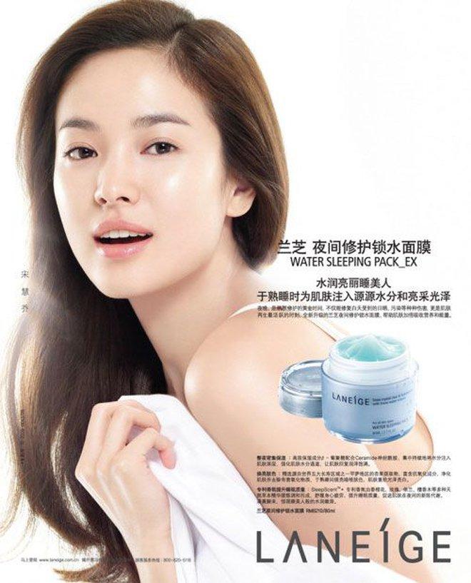 Song Hye Kyo rất hay quảng cáo mỹ phẩm, ok vậy soi cận da nàng xem thử coi - ảnh 3