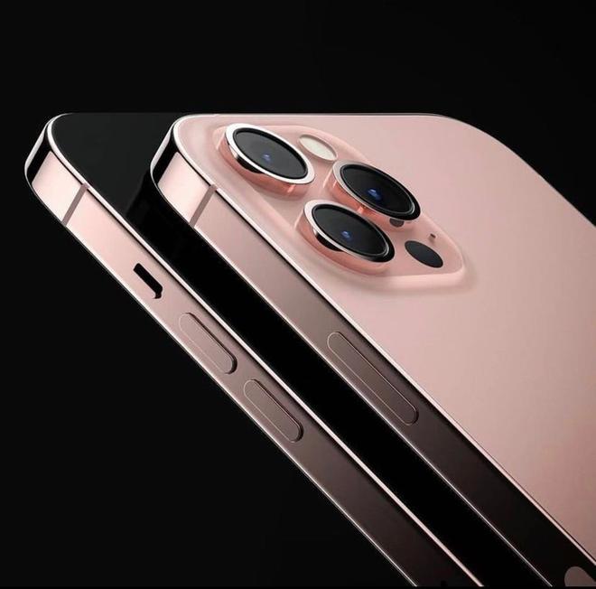 Rò rỉ concept iPhone 13 màu vàng hồng đẹp mãn nhãn - Ảnh 3.