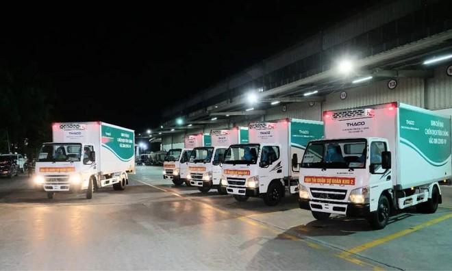 Hơn 1,5 triệu liều vắc xin Moderna đã về đến Sân bay Nội Bài - ảnh 4