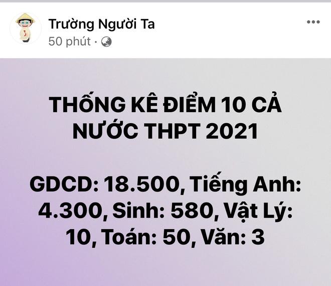 Cả cõi mạng sục sôi cùng 1 triệu sĩ tử chờ điểm thi tốt nghiệp THPT 2021 - ảnh 5