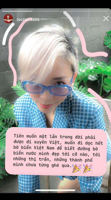 Tóc Tiên: Sau này khi hết dịch, Tiên sẽ nhớ nhất những ngày mở mắt ra không phải nghĩ về việc làm gì tiếp theo với sự nghiệp của mình! - ảnh 3