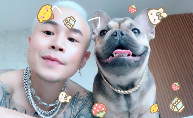 Châu Bùi khoe đang nuôi thú cưng của Binz sau ồn ào rapper số 1 Việt Nam, tiết lộ đã lỡ yêu nhau rồi? - Ảnh 4.