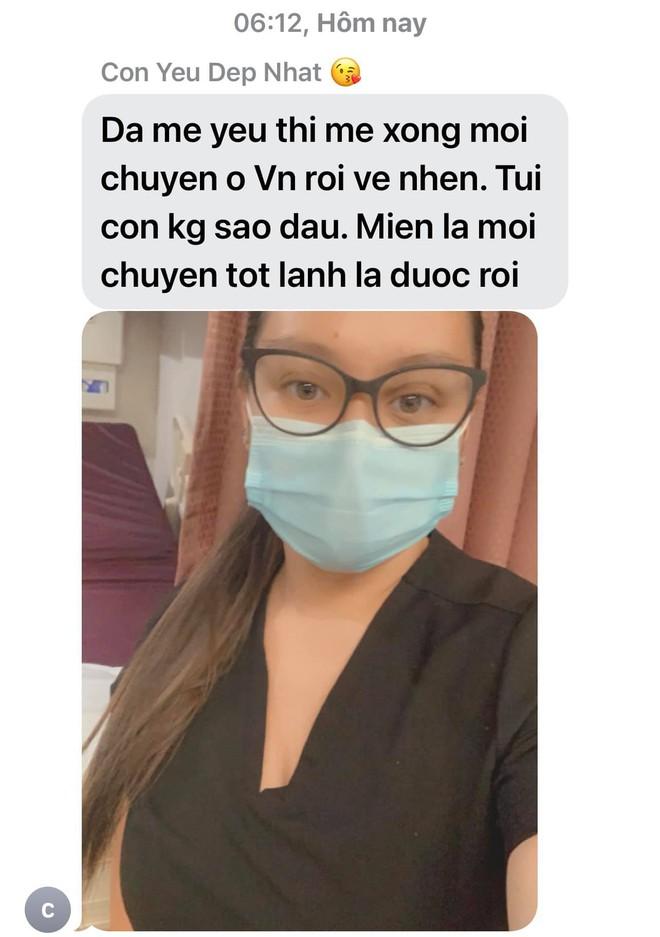 Giữa mùa dịch, Phi Nhung viết tâm thư xúc động nhắn nhủ con gái ruột làm y tá ở Mỹ, tiết lộ lý do hoãn lịch sang nước ngoài - ảnh 1
