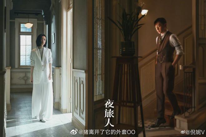 Đặng Luân tóc vuốt ngược nhìn đã thấy đểu, đàn chị Nghê Ni cười tươi như được mùa trong phim mới - ảnh 12
