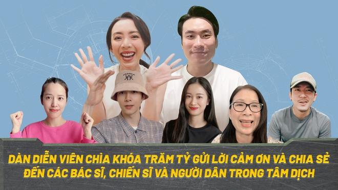 Dàn sao Chìa Khóa Trăm Tỷ ở nhà mùa dịch: Thu Trang hâm nóng tình cảm gia đình, Kiều Minh Tuấn - Jun Vũ lại cùng làm một việc - ảnh 7