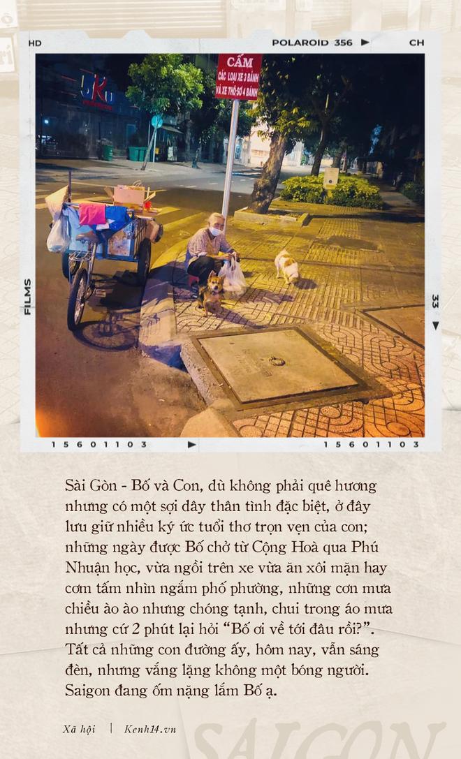 Thư gửi bố từ tâm dịch Sài Gòn: Nơi đây đã là nhà của con, và con sẽ vẫn thuỷ chung, sẽ hết mình với thành phố này chừng nào con còn thở - ảnh 1