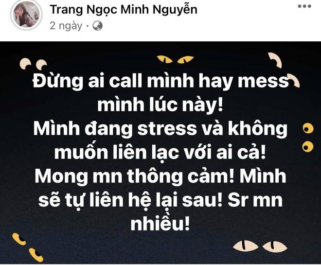2 ngày trước thông báo ly hôn, Lương Minh Trang và Vinh Râu đồng loạt đăng status cực căng, chuyện gì đây? - ảnh 2