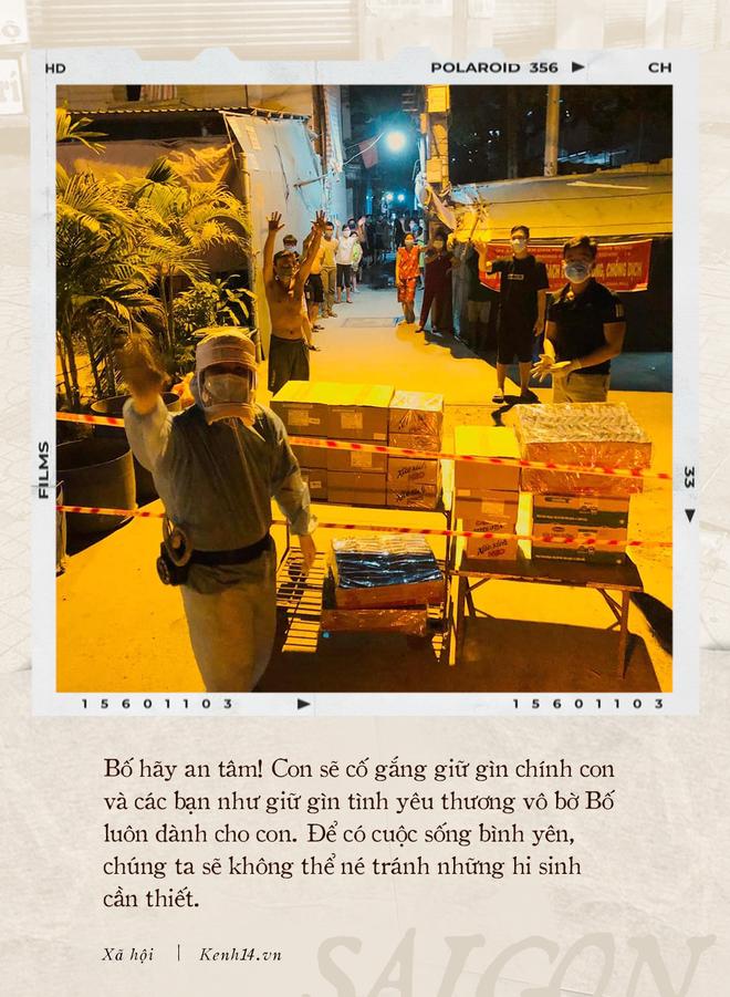 Thư gửi bố từ tâm dịch Sài Gòn: Nơi đây đã là nhà của con, và con sẽ vẫn thuỷ chung, sẽ hết mình với thành phố này chừng nào con còn thở - ảnh 3