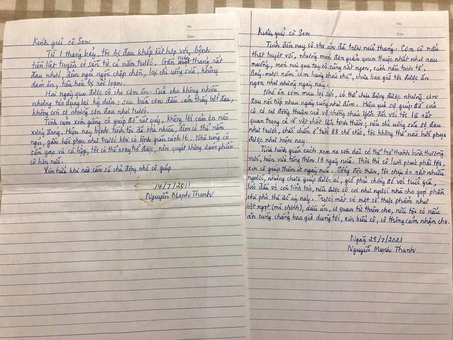 Được hàng xóm giúp đỡ lúc bệnh tật khốn khó, cụ ông viết bức thư tay đầy cảm động: Tình xóm giềng cô giúp đỡ rất quý, không lời cảm ơn nào xứng đáng - ảnh 1