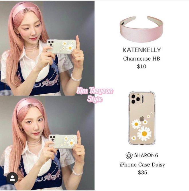 Netizen phát hiện Taeyeon (SNSD) đổi màu tóc thì phải đổi luôn cả điện thoại, chiếc ốp lưng cũng cực kỳ rát ví - ảnh 5