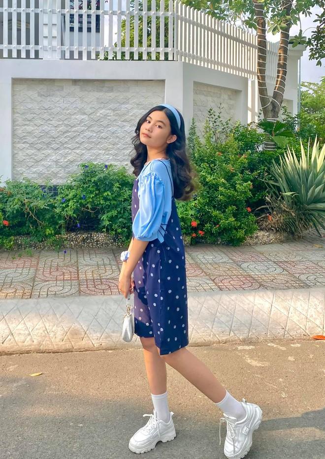 Cô út nhà MC Quyền Linh bùng nổ visual trong loạt ảnh mừng sinh nhật tuổi 13, qua ống kính của mẹ mà đỉnh cỡ này rồi! - ảnh 11