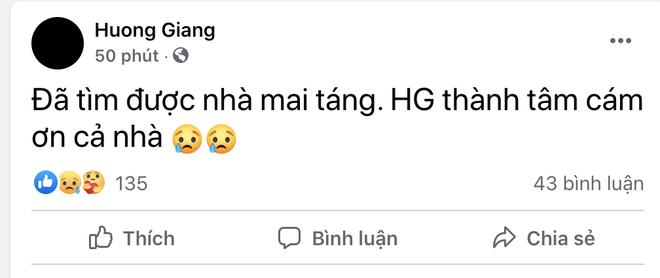 Nam ca sĩ đột ngột qua đời, bà xã Hương Giang xót xa tìm nơi mai táng vì dịch bệnh căng thẳng - ảnh 3