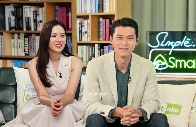 MXH nổ vì ảnh Hyun Bin - Son Ye Jin lần đầu cùng dự sự kiện hậu công khai hẹn hò, đã mặc đồ đôi còn ôm ấp như phu thê? - ảnh 1