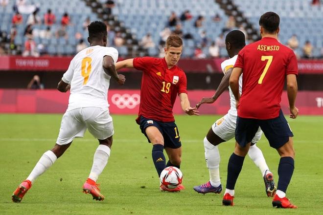 Hậu vệ Bờ Biển Ngà phá game, giúp Tây Ban Nha trở về từ cõi chết, ngược dòng giành vé vào bán kết Olympic - ảnh 6
