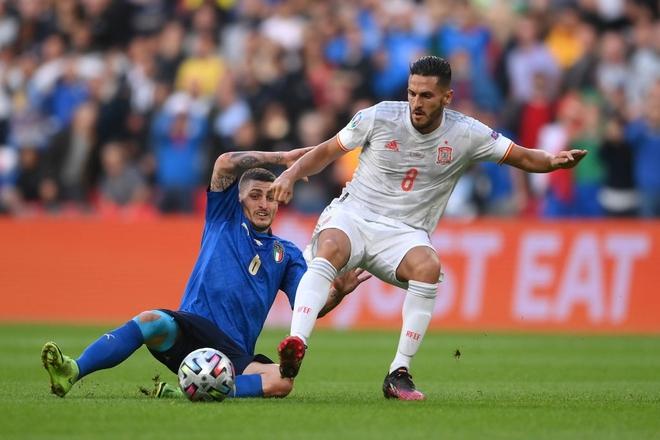 Italy vào chung kết Euro 2020 sau chiến thắng kịch tính trên chấm luân lưu - Ảnh 11.