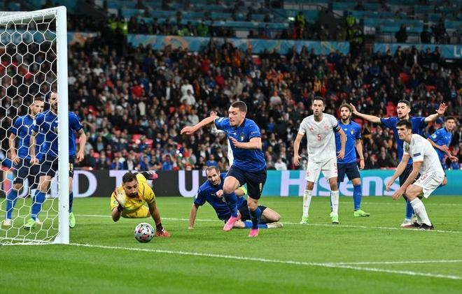 Italy vào chung kết Euro 2020 sau chiến thắng kịch tính trên chấm luân lưu - Ảnh 5.