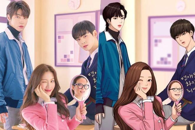 Tạo hình nhân vật loạt phim Hàn hot so với webtoon: Nevertheless ổn đấy nhưng chưa đỉnh bằng Tầng Lớp Itaewon - Ảnh 4.