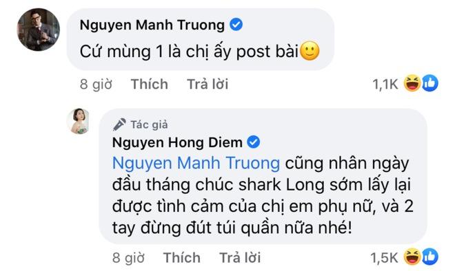 Diễn viên Hồng Diễm tái xuất mạng xã hội sau hơn 1 tháng mất hút, Hồng Đăng - Mạnh Trường lập tức vào cà khịa? - ảnh 2