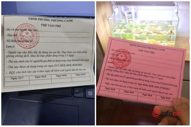 Hà Nội: Người dân phường này có thể mang phiếu đi chợ đến chợ của phường khác không? - ảnh 1