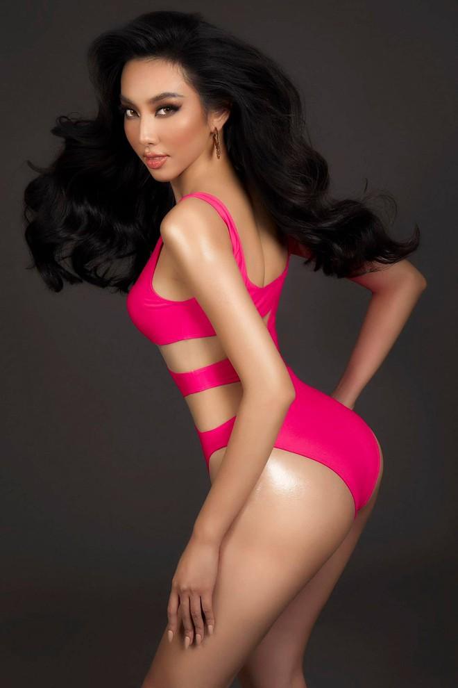 Chính thức: Đây là người đẹp đại diện Việt Nam chinh chiến Hoa hậu Hòa bình Quốc tế 2021, Mai Phương Thuý và dàn sao chúc mừng - Ảnh 4.