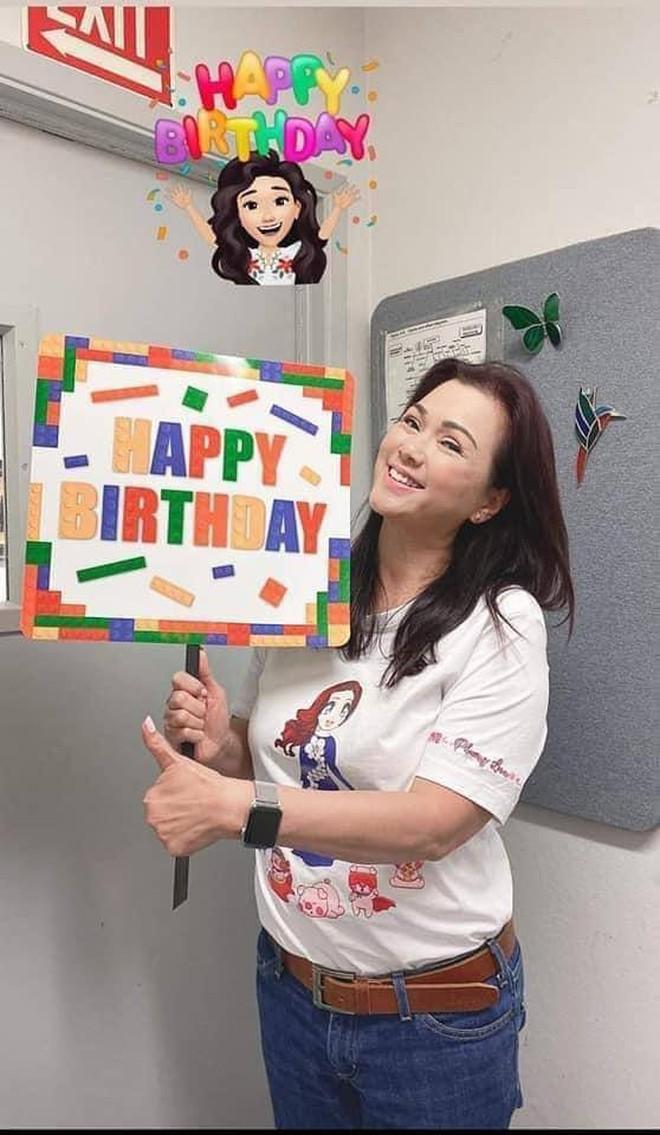 Ca sĩ Phương Loan đón sinh nhật đầu tiên không có cố NS Chí Tài thế nào? - Ảnh 5.