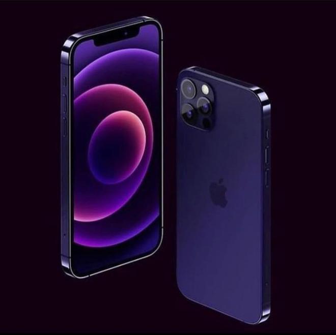 """Rò rỉ concept iPhone 13 màu tím cực sang chảnh, nhìn là muốn """"chốt đơn"""" ngay! - Ảnh 2."""