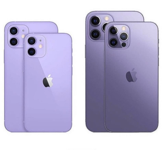 """Rò rỉ concept iPhone 13 màu tím cực sang chảnh, nhìn là muốn """"chốt đơn"""" ngay! - Ảnh 3."""