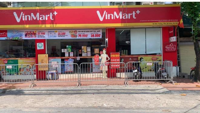 Danh sách 23 siêu thị VinMart, VinMart  tạm đóng cửa vì liên quan ca nhiễm Covid-19 - Ảnh 1.