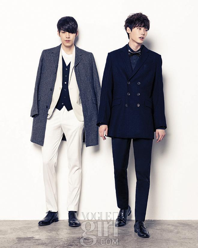 """Lee Jong Suk hiếm hoi hé lộ quan hệ """"tình bạn là 1 dạng tình yêu"""" với tài tử Kim Woo Bin qua hành động quắn quéo - Ảnh 5."""