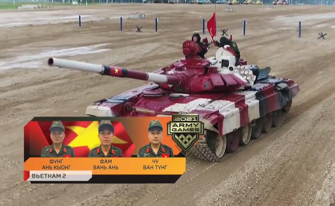 Khởi đầu không như ý, Đội tuyển xe tăng Việt Nam vẫn có màn bứt phá thần tốc ở chặng nước rút - Ảnh 5.