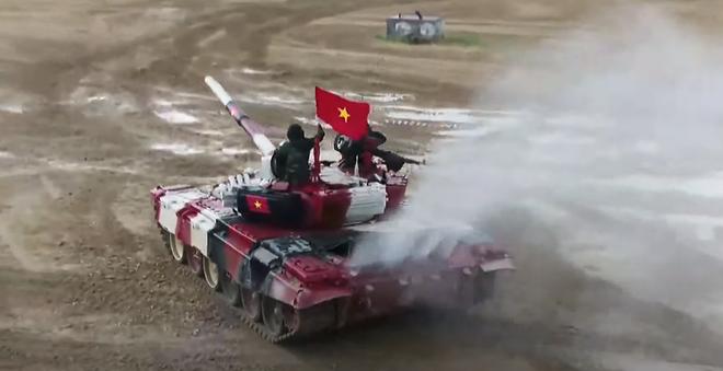 Khởi đầu không như ý, Đội tuyển xe tăng Việt Nam vẫn có màn bứt phá thần tốc ở chặng nước rút - Ảnh 6.