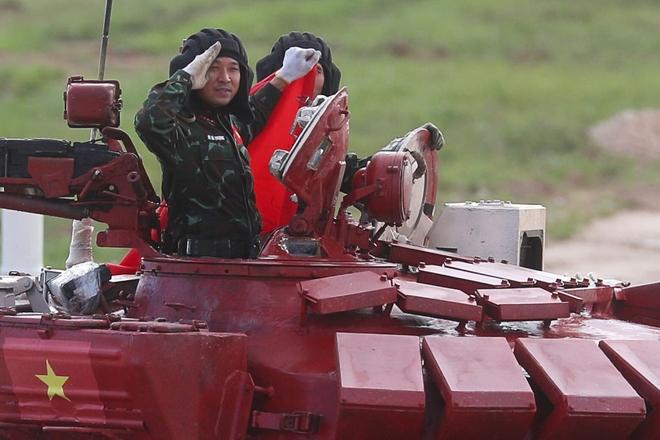 Khởi đầu không như ý, Đội tuyển xe tăng Việt Nam vẫn có màn bứt phá thần tốc ở chặng nước rút - Ảnh 23.