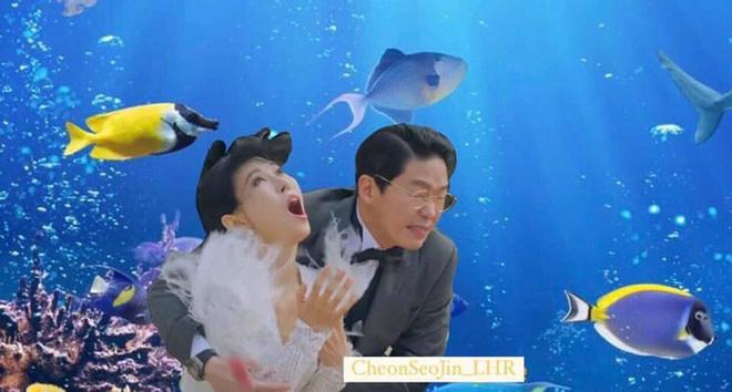 Cười bể bụng với 3 đám cưới có 1-0-2 ở phim Hàn: Hôn lễ bị thổi bay trong Penthouse thành huyền thoại meme - Ảnh 2.