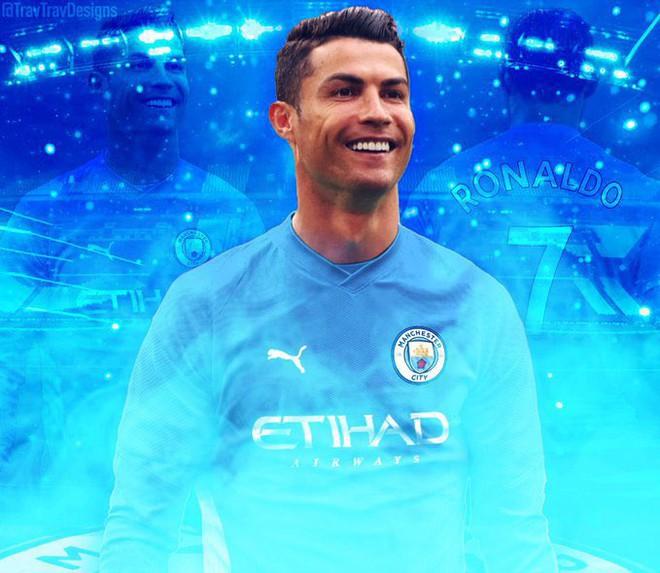 Tin Ronaldo chính thức về Man City là fake news