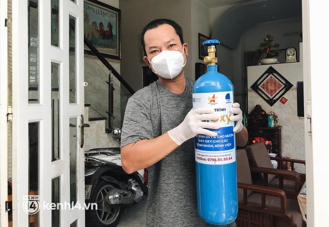 """""""Cha đẻ"""" ATM gạo cho ra đời ATM Oxy và câu chuyện bình oxy cứu sống một người cha ở Sài Gòn trong đêm - ảnh 4"""