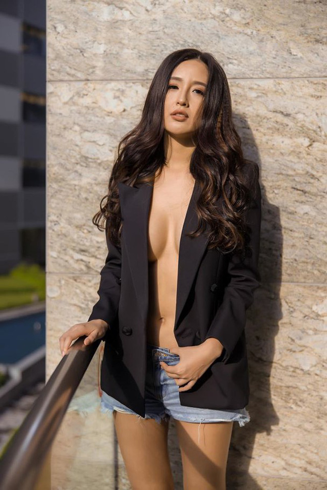 """Phản ứng của Mai Phương Thuý sau 2 năm bị chiếc váy """"hại"""" suýt lộ vòng 1 khủng trên sóng trực tiếp Miss World Việt Nam - Ảnh 6."""