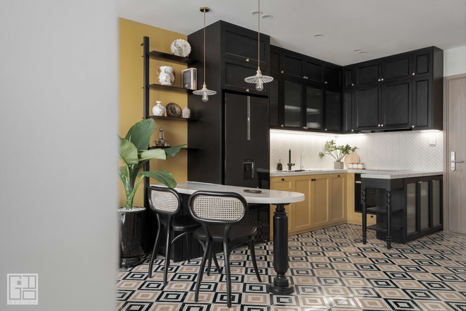 Nội thất căn hộ thiết kế phong cách Indochine 700 triệu - Ảnh 5.