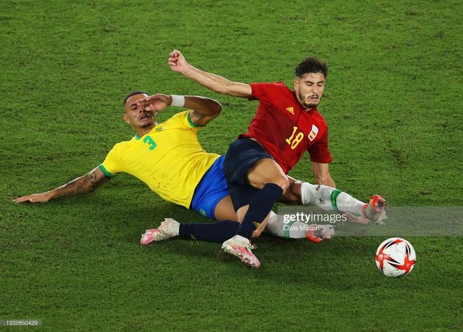 Quẳng đi 2 cơ hội mười mươi, Brazil vẫn tung cú đấm hạ gục Tây Ban Nha để bảo vệ thành công tấm HCV Olympic - Ảnh 7.