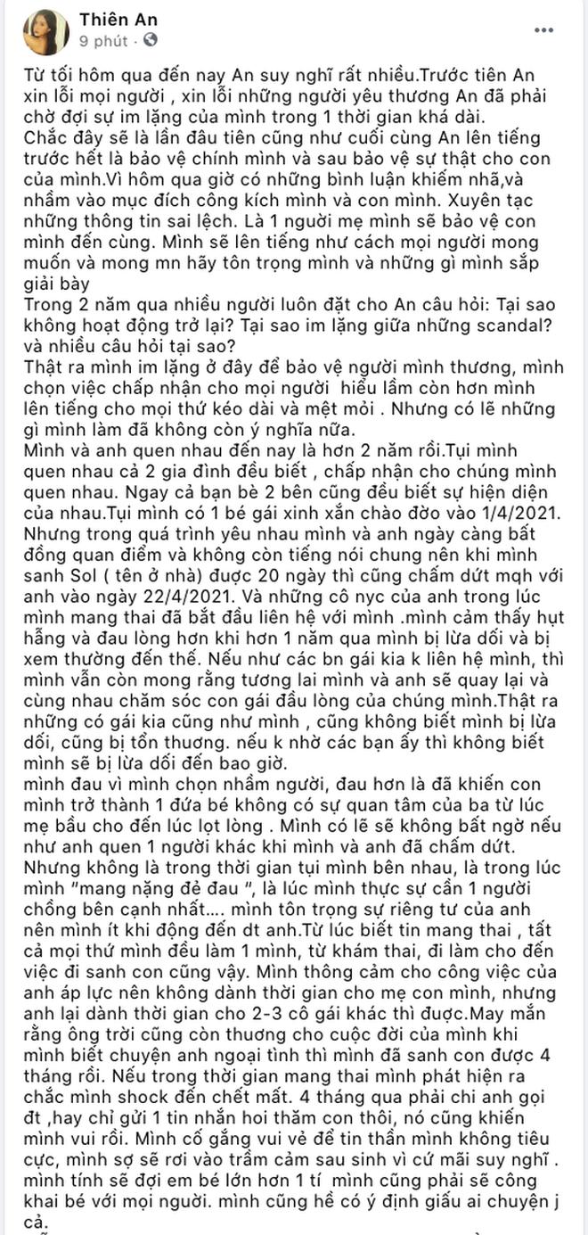 """Hé lộ diện mạo con gái của Jack và Thiên An, netizen đồng loạt nhận xét: """"Giống bố như lột"""" - Ảnh 6."""