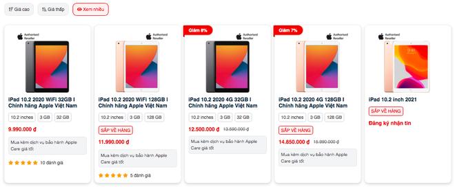 Nhu cầu học online tăng cao, iPad cũ bị thiếu hàng, tăng giá - Ảnh 1.