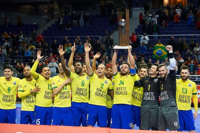 Tuyển futsal Brazil từng nghiền nát đội bóng láng giềng của Việt Nam với tỷ số khủng khiếp 76-0 - ảnh 5